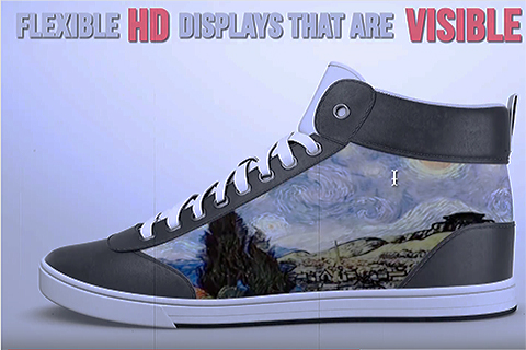 Customizable Digital Advertising displays that look great on your feet.